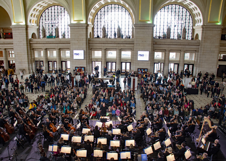 NSO at Union Station